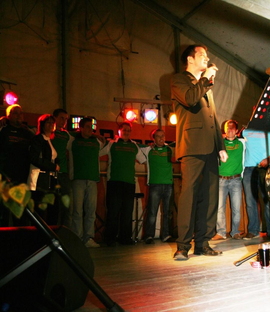 "Marco Vegas Premiere zu ""Ole Espana"" Anfang September 2009"